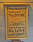 House Divine Sign - $150